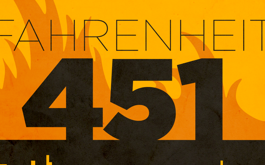 'Fahrenheit 451' Poster