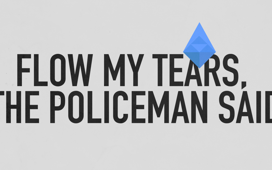 'Flow My Tears, The Policeman Said' Poster