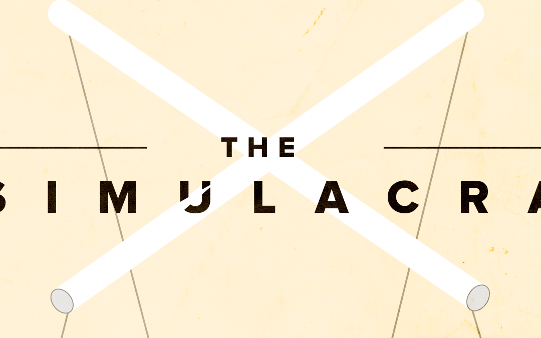 'The Simulacra' Poster