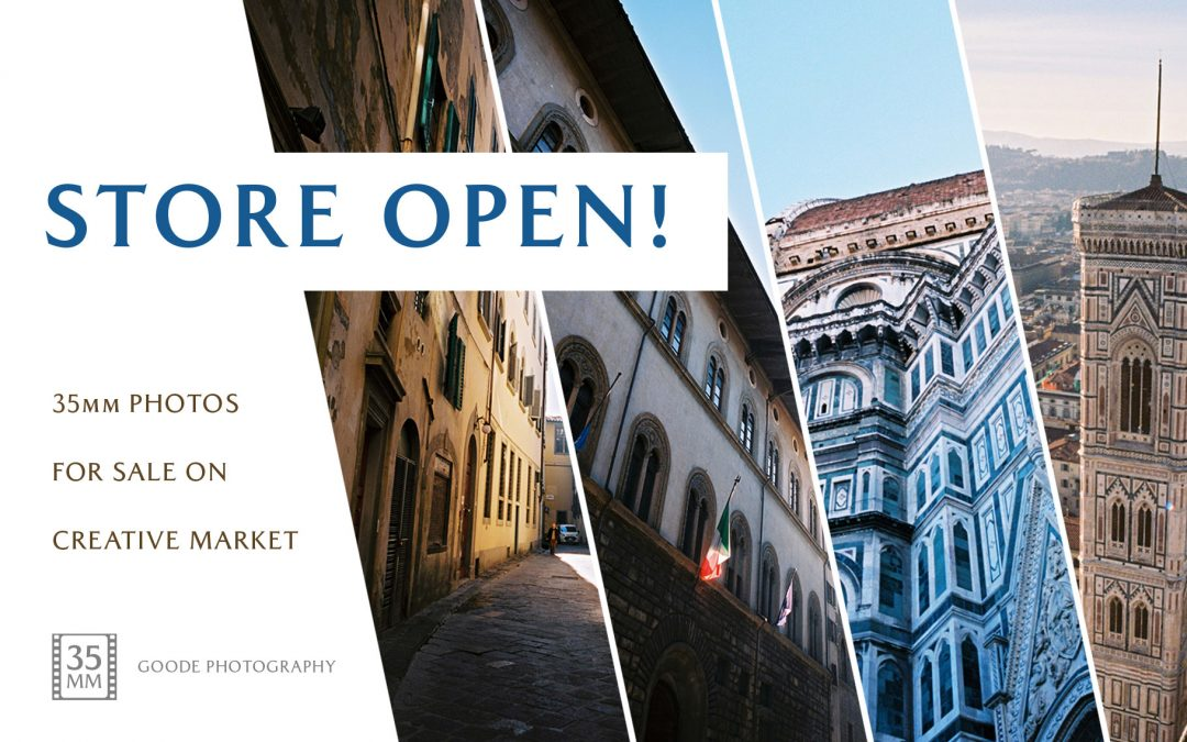 Creative Market Photography Store Now Open!